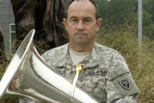 Robert Waters and the National Guard Bands